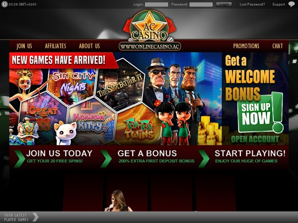 AC Casino Upgrade Account