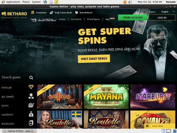 BetHard Casino Vip Account