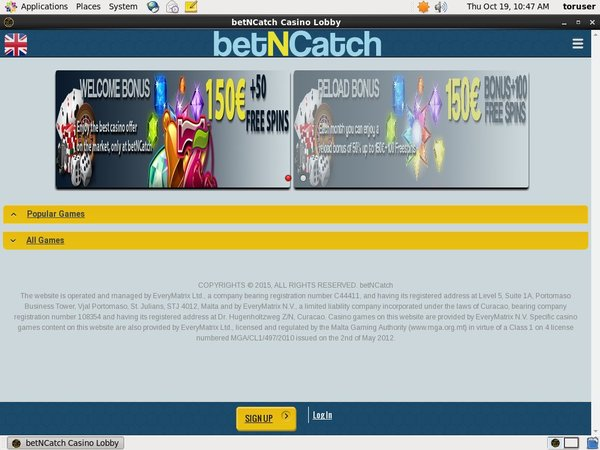 Betncatch Join Bonuses