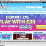 Bubble Bonus Bingo Free Bet
