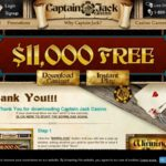Captain Jack Casino 無料ボーナス
