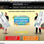 Captaincookscasino Promotional Code