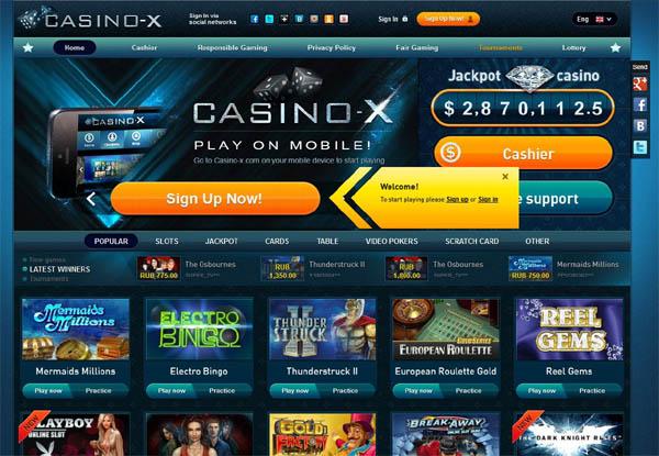 Casino X Platobné