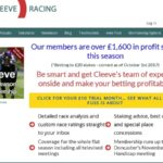 Cleeve Racing Advert