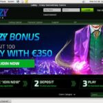 Crazy Casino New Customers Bonus