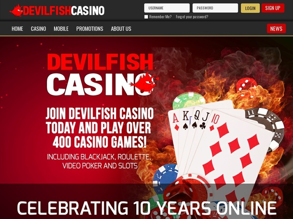 Devil Fish Live Casino Uk
