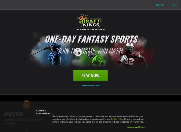 Draftkings With Visa Card