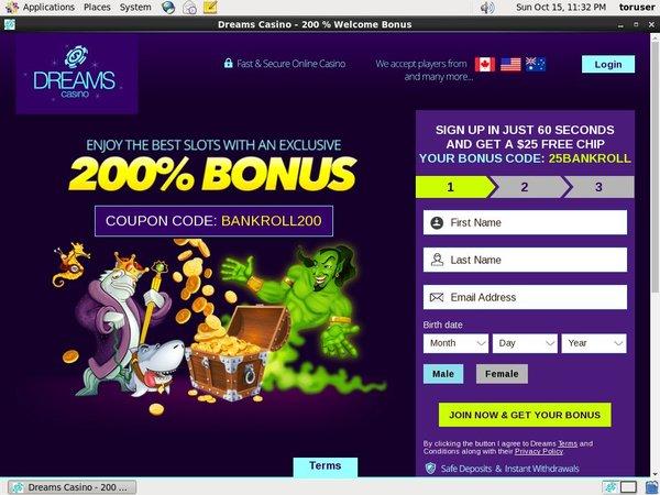 Dreamscasino Betting App