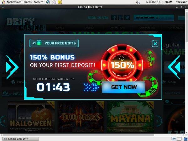 Drift Casino Starburst