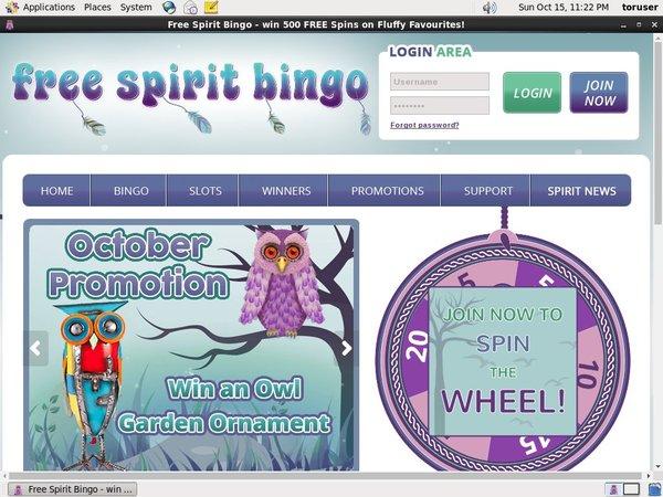 Freespiritbingo Mobile Poker
