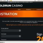 Gold Run Casino New Customers