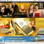 Goldbetting Visa Card
