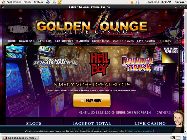Goldenlounge Joining Offers