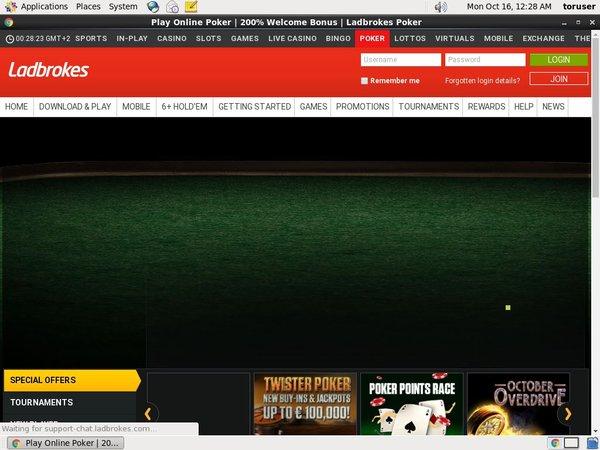 Ladbrokes Poker Välkomstbonus