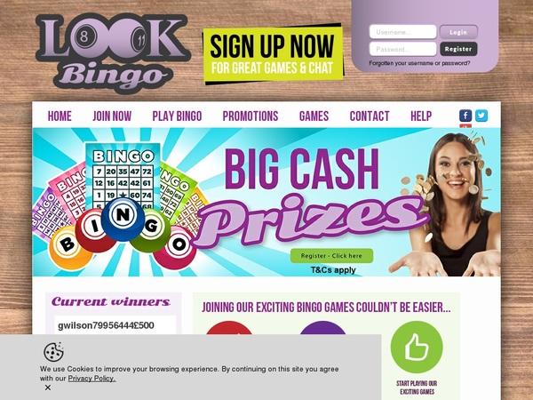 Look Bingo Bank Transfer