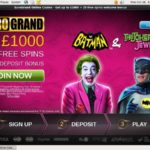 New Euro Grand Casino Account