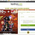 New Lapalingo Bonus