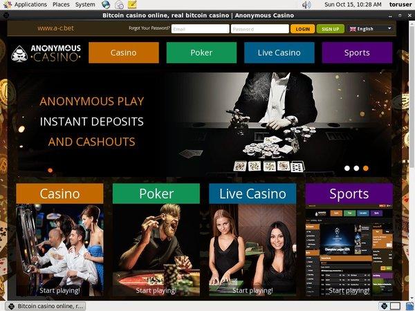 No Deposit Bonus Anonymous Casino