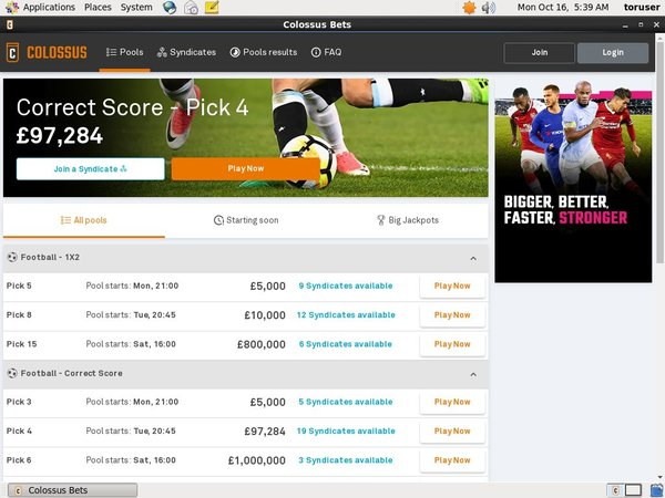 Pay For Colossusbets