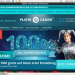 Platincasino Bonus Code Offer