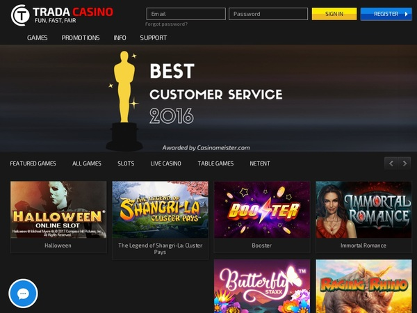 Play Trada Casino