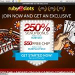 Rubyslots New Customer Promo