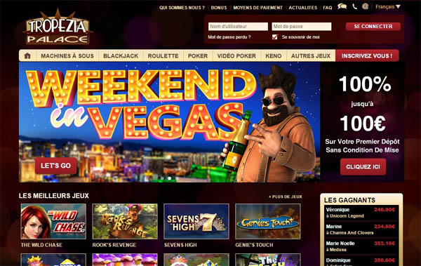 Tropeziapalace Online Casino Reviews