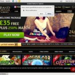 Welcome Bonus Grandfortunecasino