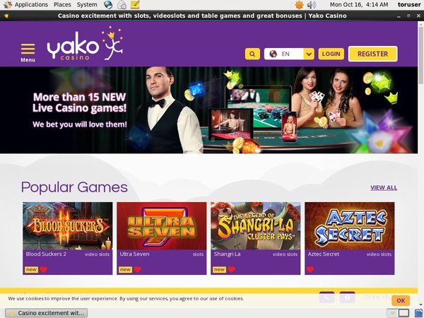 Yakocasino Sign Up Code