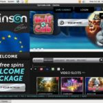 Spinson Welcome Bonus No Deposit