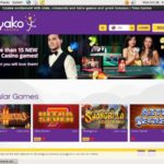 Yako Casino Welcome Promo