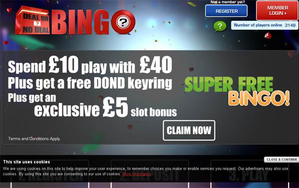 Dealornodealbingo Casinos Bonus