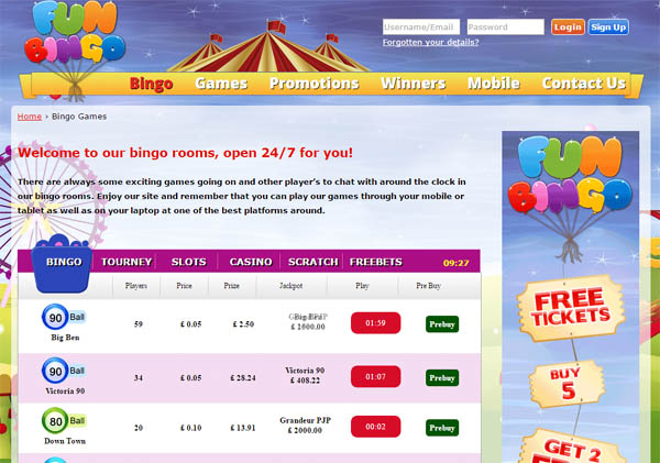 Funbingo Online Casino Reviews