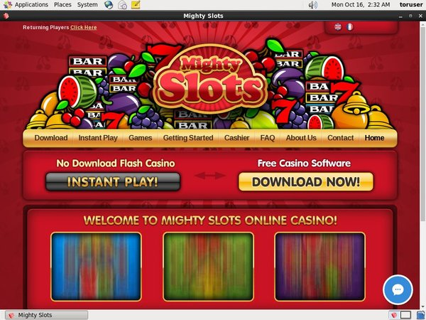 Mighty Slots Casinos Bonus