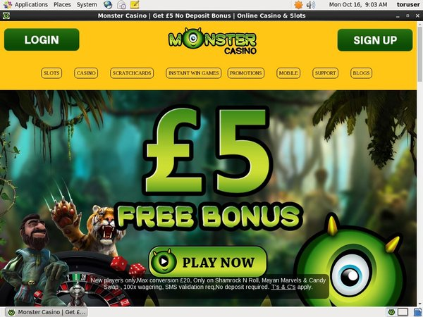 Monstercasino Sports Betting