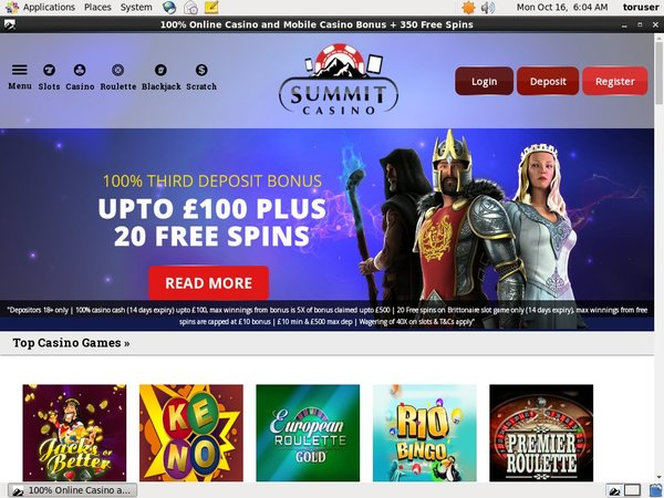 Summitcasino Use Paypal