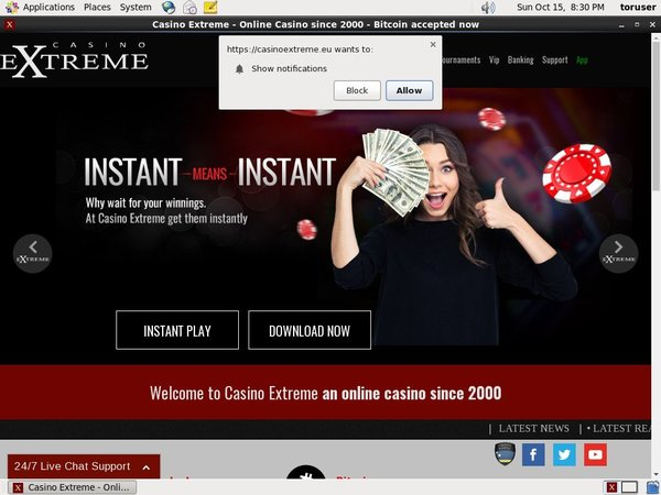 Casinoextreme Best Bingo Sites
