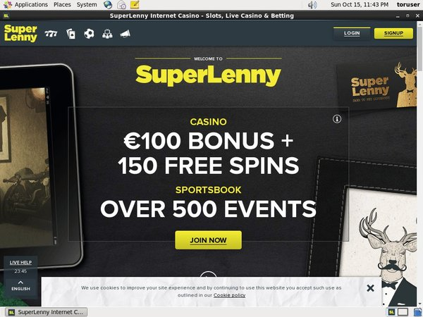 Super Lenny Online Casino Websites