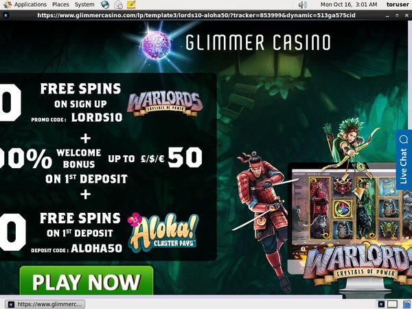 Glimmercasino Mobile Login