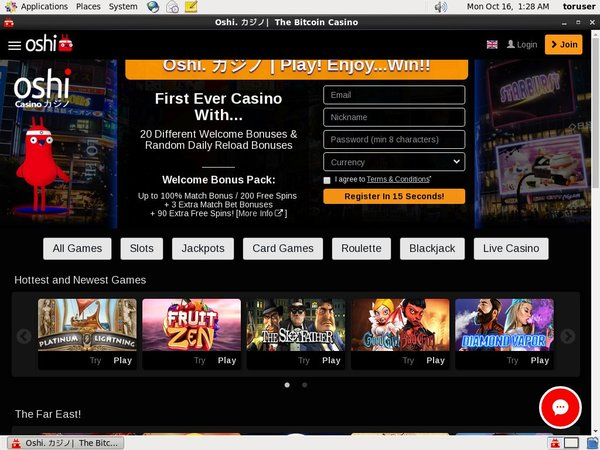 Oshi Casino Sites