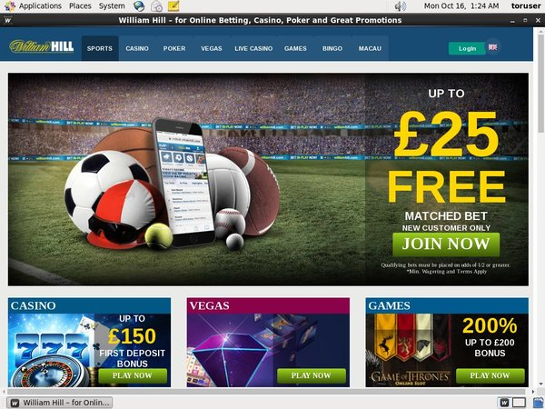 William Hill Casino Spins Free