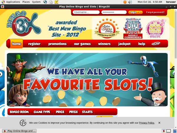 Bingo 3X Play Online Casino