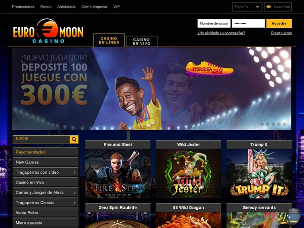 Euromoon Slot Machines Free