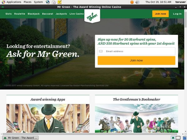 Mr Green Mobile Download