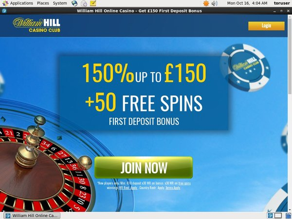 Williamhillcasino My Account