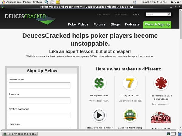 Deuces Cracked Free Bet Rules
