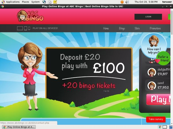 New ABC Bingo Promotions