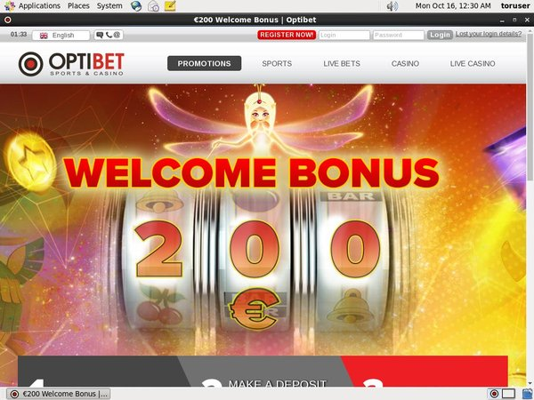 Optibet Free Bet Bonus
