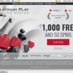 Platinumplay Free Spins