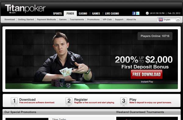 Free Spins Titan Poker